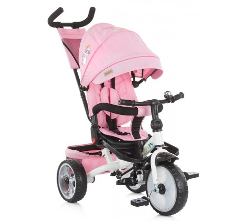 chipolino triciclu max relax trkmrl0192ro roz