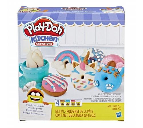 """play-doh e3344 set de plastilină """"gătit și gogoși"""""""