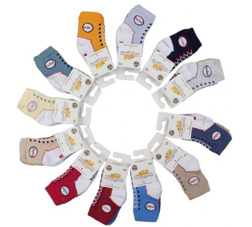 Imbracaminte pentru bebelușii in Moldova mini damla 42849 set de șosete (2 perechi) în sort.