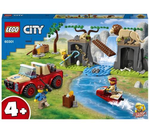 """lego city 60301 Конструктор """"Спасательный внедорожник для зверей"""" (157 дет.)"""