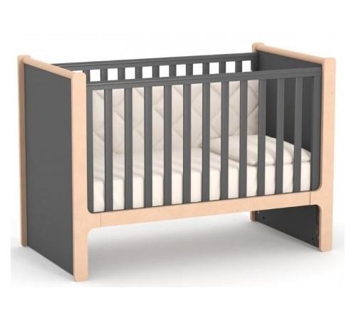 veres 07.3.1.36.16 Кроватка детская ЛД7 Ницца (тёмно-серый)