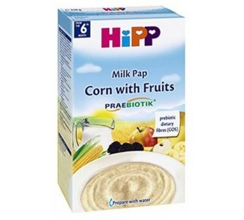 hipp 2953 Молочная каша кукурузная с фруктами и пребиотиками (6m+) 250 гр.