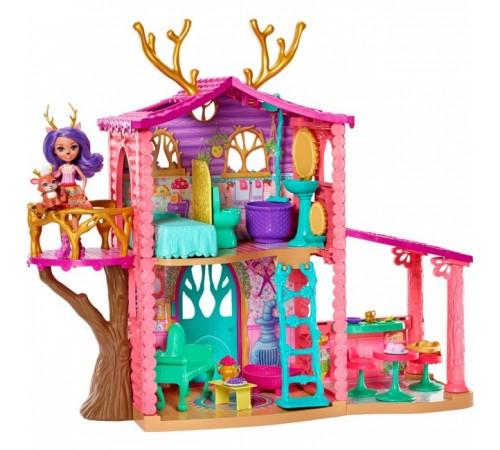 "Jucării pentru Copii - Magazin Online de Jucării ieftine in Chisinau Baby-Boom in Moldova enchantimals frh50 set ""casa de pădure Сaprioara denisa"""