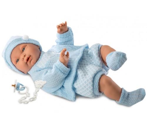 """Детскиймагазин в Кишиневе в Молдове llorens Кукла """"Малыш Хьюго"""" 45023 (45 см.)"""