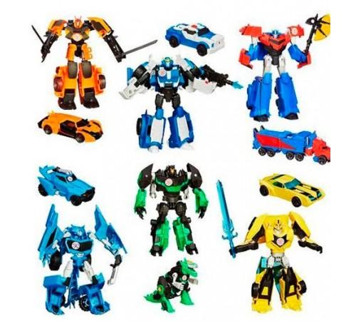 transformers b0070 masina-robot rid warriors in sort.