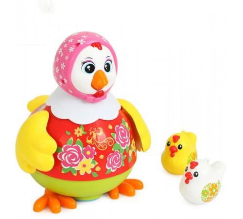 holatoys 6102 Танцующая курица  с музыкой и светом