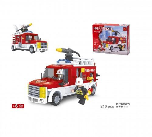 """Детскиймагазин в Кишиневе в Молдове color baby 42237 Конструктор """"Пожарная машина"""" 210 ед"""