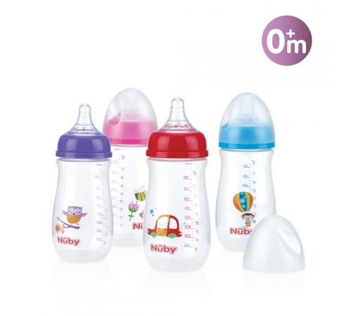 Детское питание в Молдове nuby id1242 Бутылочка wn антиколик медленный поток 270мл