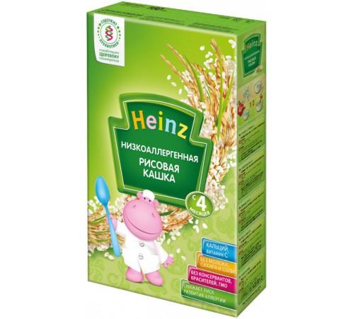 heinz Низкоаллергенная рисовая кашка без молока (4m+) 160 гр.