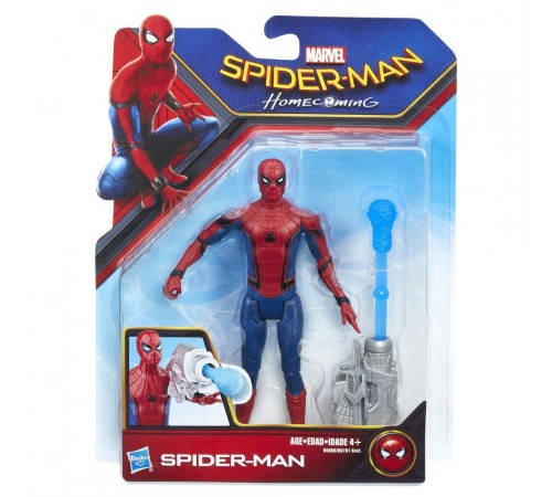 spider-man b9701 figuri cobweb city 15 cm