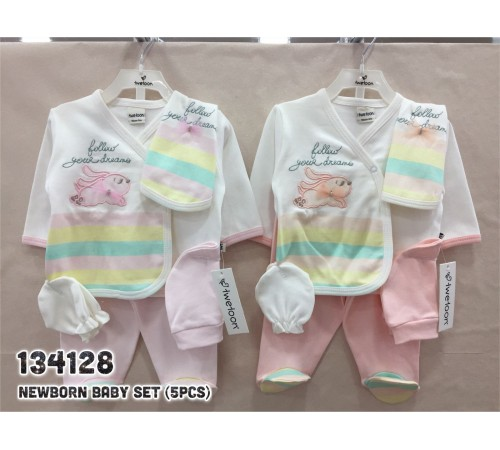 Одежда для малышей в Молдове twetoon baby 134128 Набор из 5 единиц для новорожденных