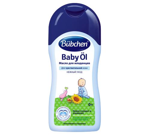 bubchen Масло для младенцев с  каритэ и подсолнечником (200 мл)