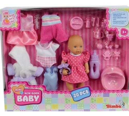 """Детскиймагазин в Кишиневе в Молдове simba 3387 Игровой набор """"Кукла new born с аксессуарами"""""""