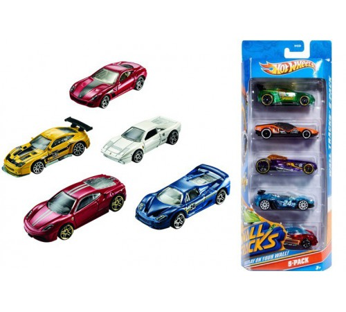 hot wheels 1806 Набор базовых машин hot wheels  в ассорт.