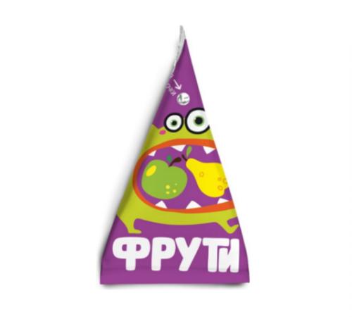 """Детское питание в Молдове """" Маленькое счастье """" . Пюре  """"Фрути"""" груша-яблоко 65 г  (3+)"""