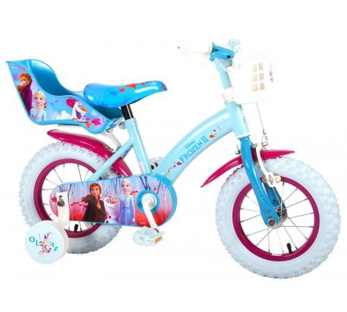"""volare bicicleta """"frozen2 12"""" 91250-ch albastru"""