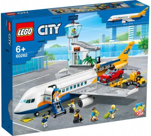 """lego city 60262 Конструктор """"Пассажирский самолёт"""" (669 дет.)"""