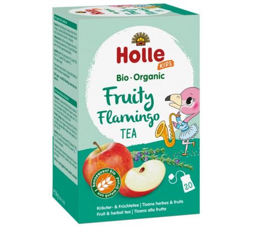 holle bio organic ceai de fructe pentru copii flamingo (de la 3 ani) 20 plicuri