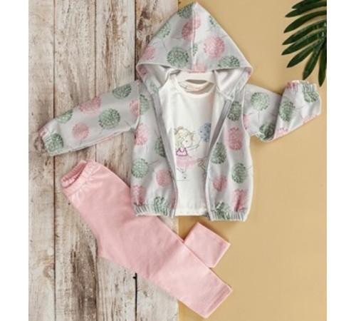 Одежда для малышей в Молдове babyrose 7635 Комплект из 3 единиц (6-9-12-18 мес.)