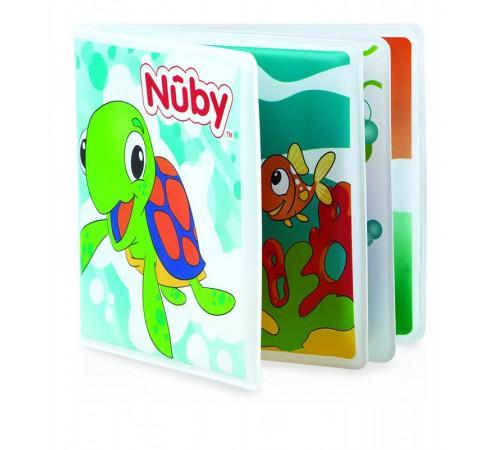 """nuby id4755 Игрушка для ванной """"Книжка с пищалкой""""."""