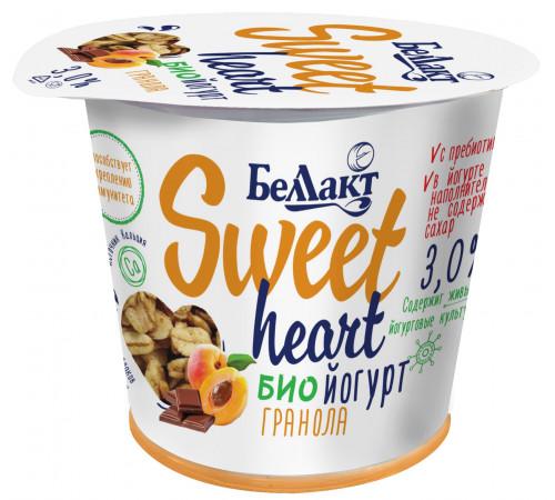 "Беллакт iaurt bio ""granola"" sweet heart 3% (150 gr.)"