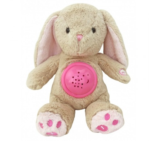 """baby mix stk-18957 pink Проектор музыкальный """"Кролик"""""""