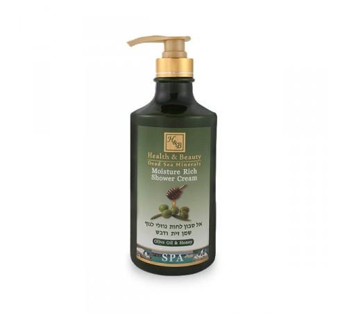 health&beauty Увлажняющий крем-гель для душа Оливковое масло и Мёд (44.293)