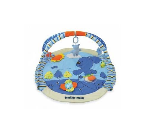 """baby mix tk/3240c Развивающий игровой коврик """"Голубой Мишка"""""""