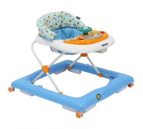 baby mix bg-1601 premergător cu volan albastru/alb