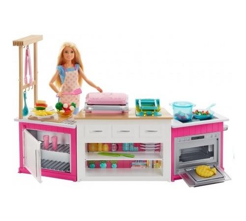 "barbie frh73 Набор с куклой ""Готовим вместе"""
