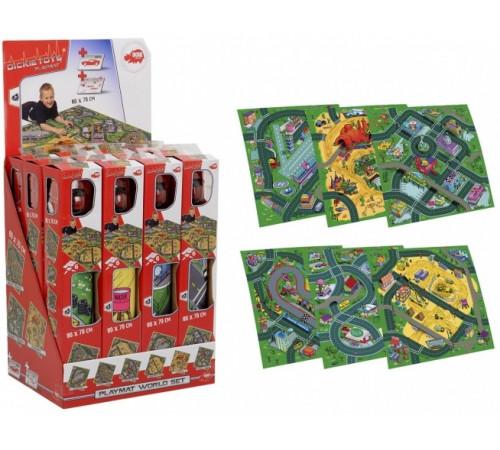 Детскиймагазин в Кишиневе в Молдове dickie 3745003 Игровой коврик с машинкой (асс.)