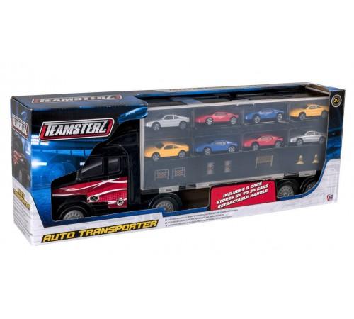 """Jucării pentru Copii - Magazin Online de Jucării ieftine in Chisinau Baby-Boom in Moldova teamsterz 1416446.00x  set de joc""""transportator cu mașini"""""""