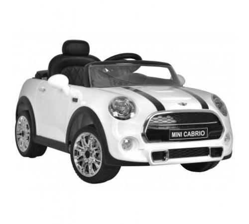 """baby mix ur-z656r white masina pe baterie """"mini cabrio"""""""