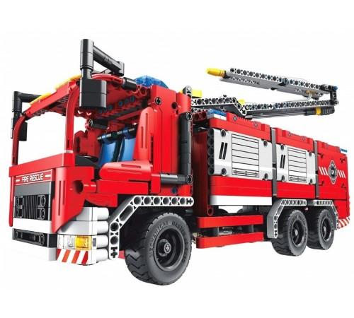 """Детскиймагазин в Кишиневе в Молдове xtech bricks 6805 Конструктор 2-в-1 """"Пожарная машина механизированная"""" (1288 дет.)"""