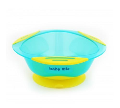 Детское питание в Молдове baby mix ra-d2-1100 blue Тарелка с присоской