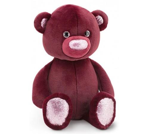 orange toys Пушистый бордовый медведь ot3003/35 (35 см.)