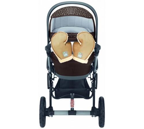 cam Муфта-перчатки для коляски guanti беж