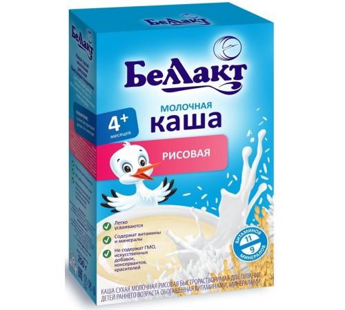 Детское питание в Молдове Беллакт каша молочная рисовая (4m+) 200 гр.