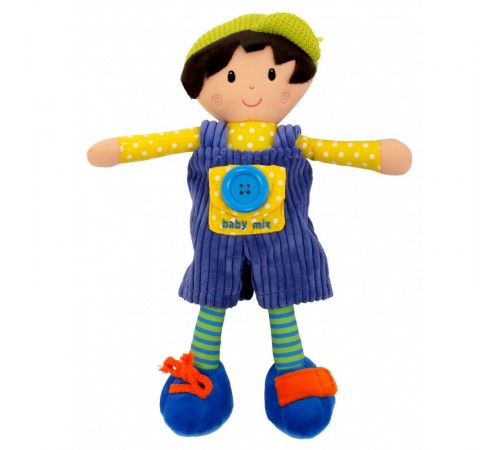 Детскиймагазин в Кишиневе в Молдове baby mix ef-te-8488-31b Игрушка плюш Артур
