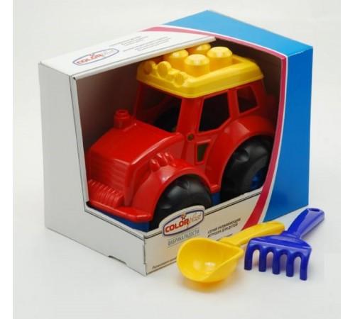 "Jucării pentru Copii - Magazin Online de Jucării ieftine in Chisinau Baby-Boom in Moldova colorplast 0237 tractorul ""grasshopper"" №4 in sort."