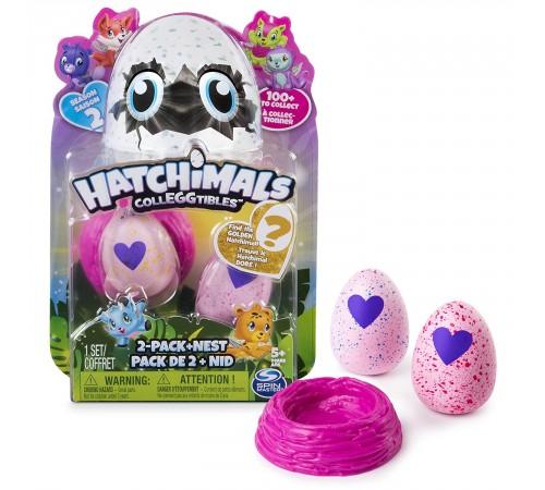 """hatchimals 6041329 Набор """"colleggtibles"""" гнездо и две фигурки в яйцах в асс."""