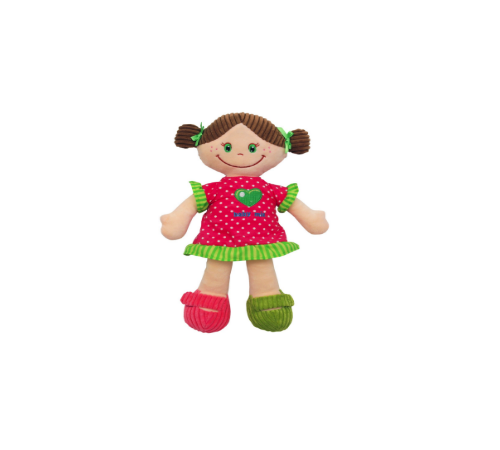 Детскиймагазин в Кишиневе в Молдове baby-mix ef-te-8557-30 Кукла плюш Паула
