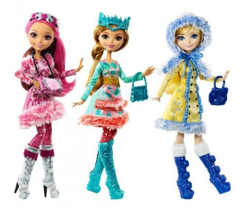 "ever after high dkr62 Кукла ""Принцесса"" из м/ф ""Зачарованная зима "" в асс.(3)"