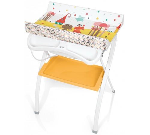 brevi Пеленальный столик с ванночкой lindo 585 Лила