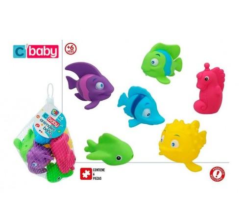 """Детскиймагазин в Кишиневе в Молдове color baby 43724 Игрушки для купания """"Рыбки"""""""