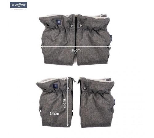 """womar zaffiro mănuși pentru cărucior """"organic camel"""""""