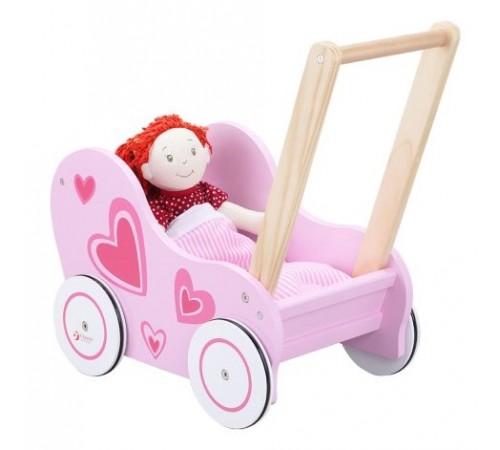 classic world 2812 Деревянная коляска для куклы