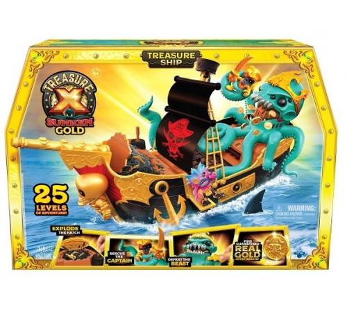 """treasure x 41579 Игровой набор """"Корабль c сокровищами"""""""