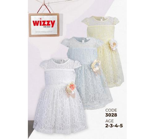 wizzy 3028 rochie (2-3-4-5 ani.) albastru