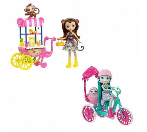Детскиймагазин в Кишиневе в Молдове Кукла enchantimals со зверюшкой и транспортным средством (в асс) fjh11